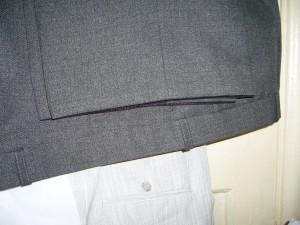 как подшить брюки