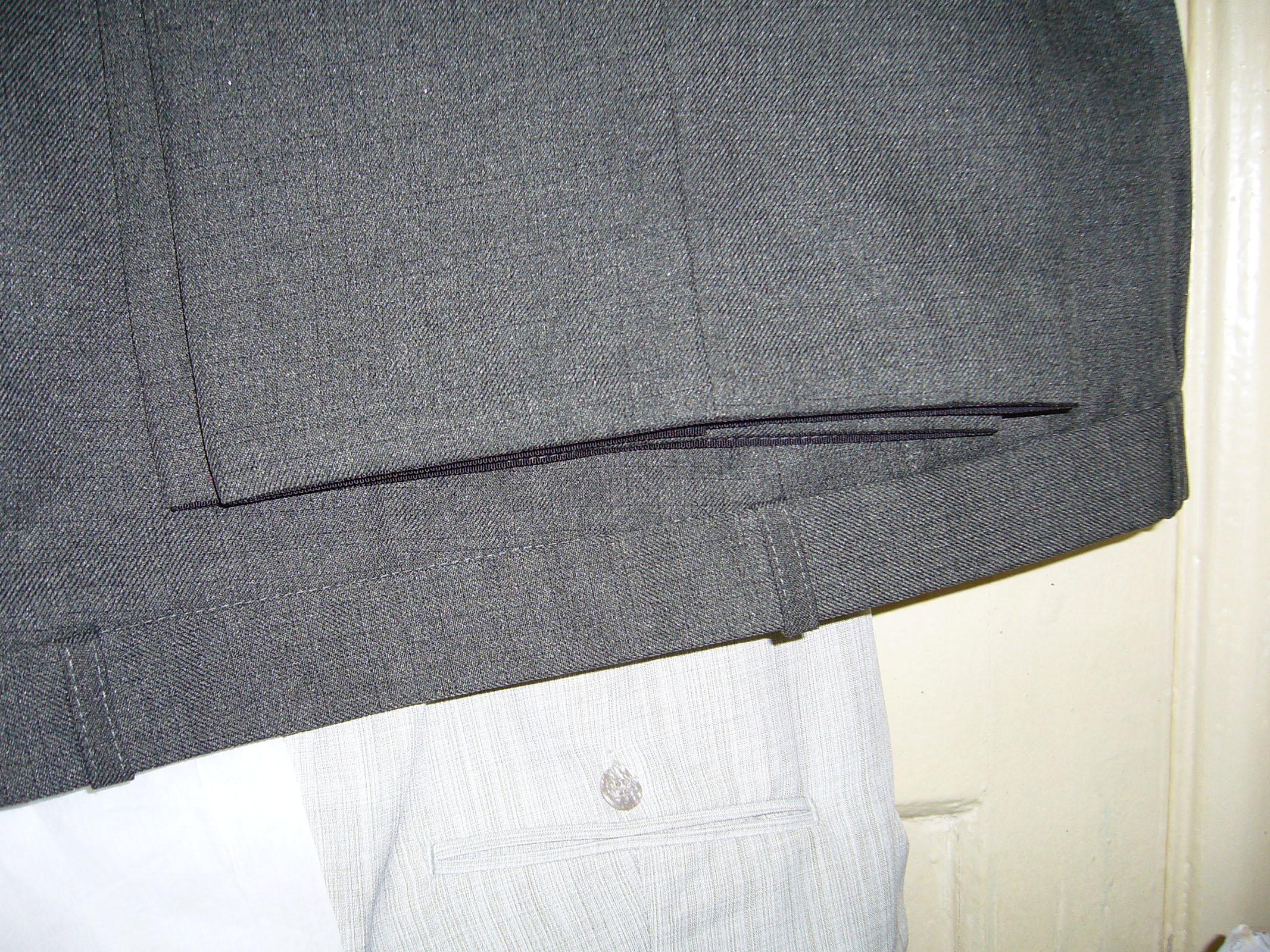Как подшить юбку или брюки