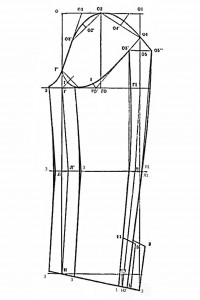 выкройка двухшовного рукава женского жакета