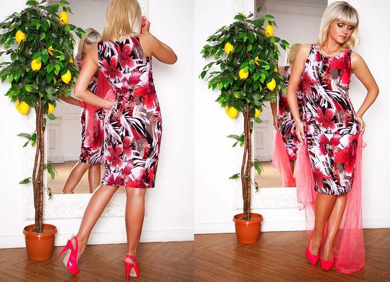Конструирование летнего платья