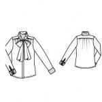 блузка выкройка