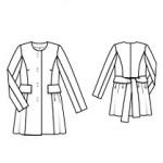 женское пальто выкройка