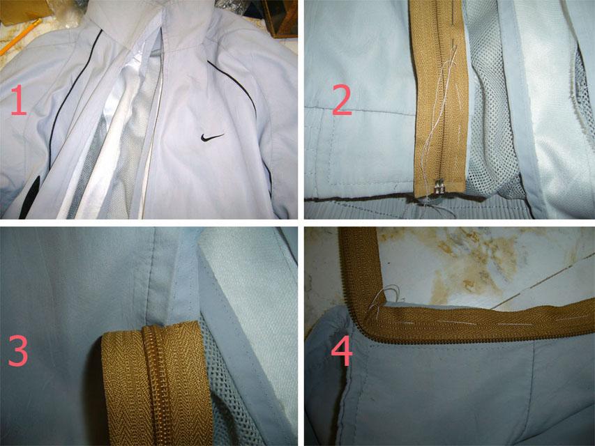 Как перешить молнию на платье