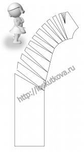 моделирование складок драпировки