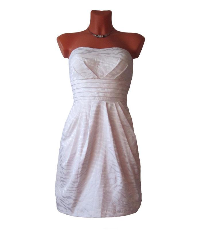 Платье с драпировкой юбки