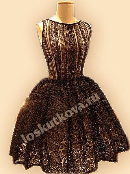 Сшить самой красивое платья