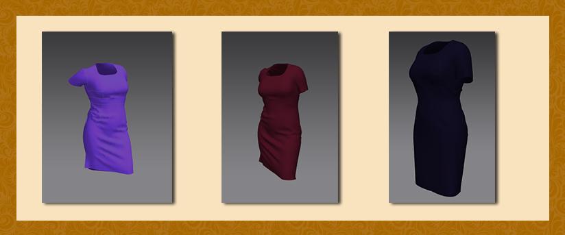 a1a89fe55f5 Конструирование платья. Примеры моделирования летнего платья футляр ...