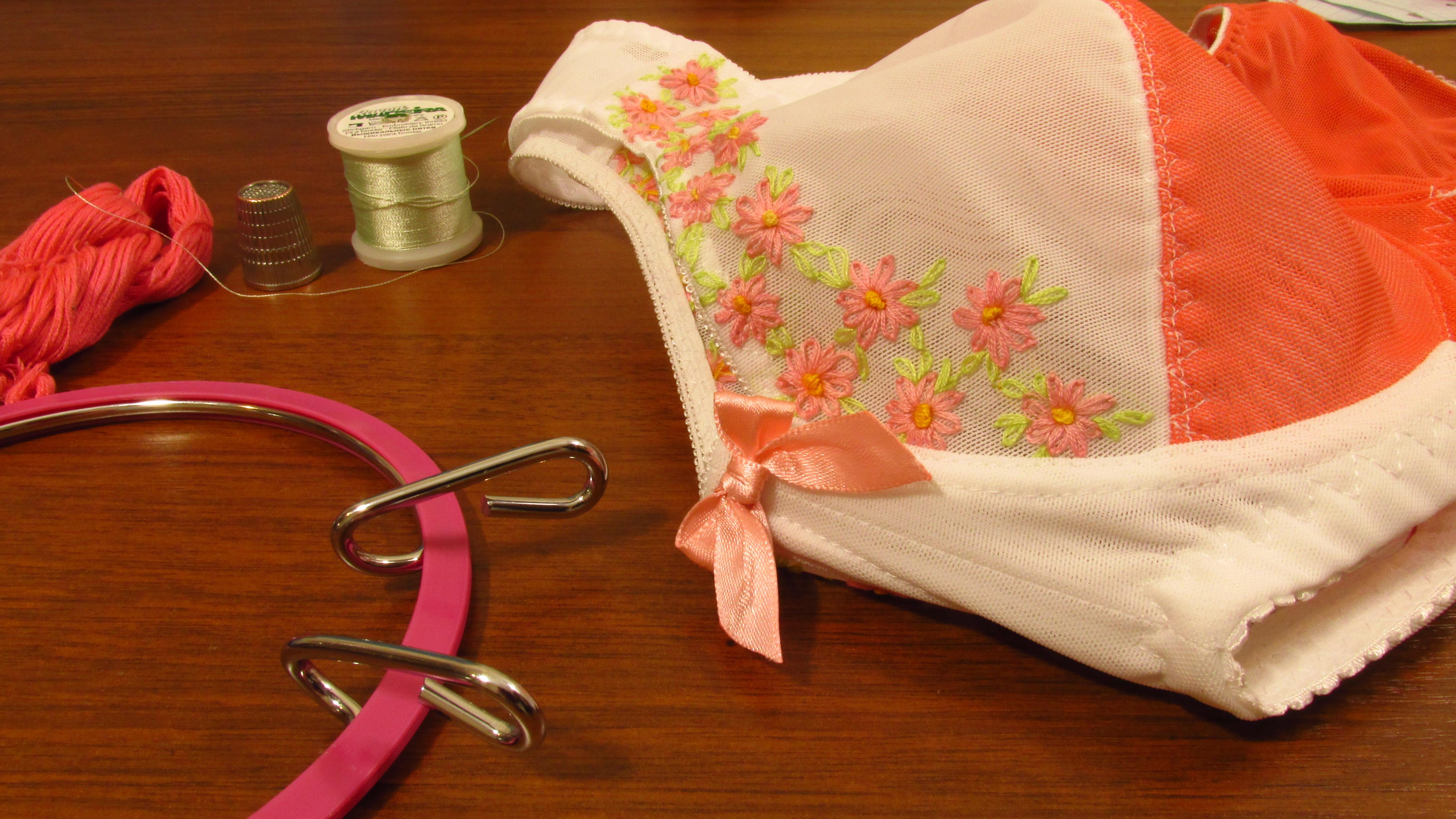 при шитье белья своими руками